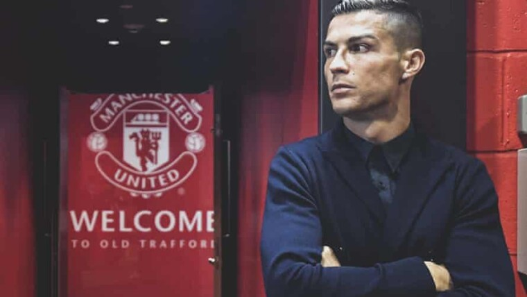 cristiano ronaldo is coming to manchester united